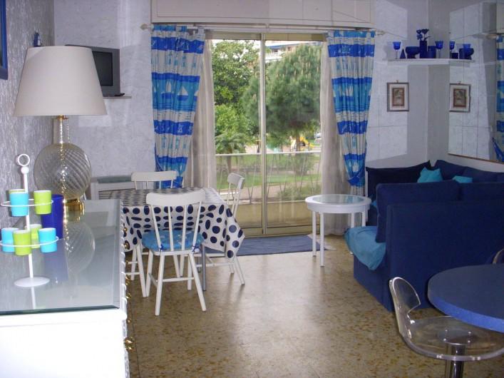 Location de vacances - Appartement à Cannes - SALLE A MANGER