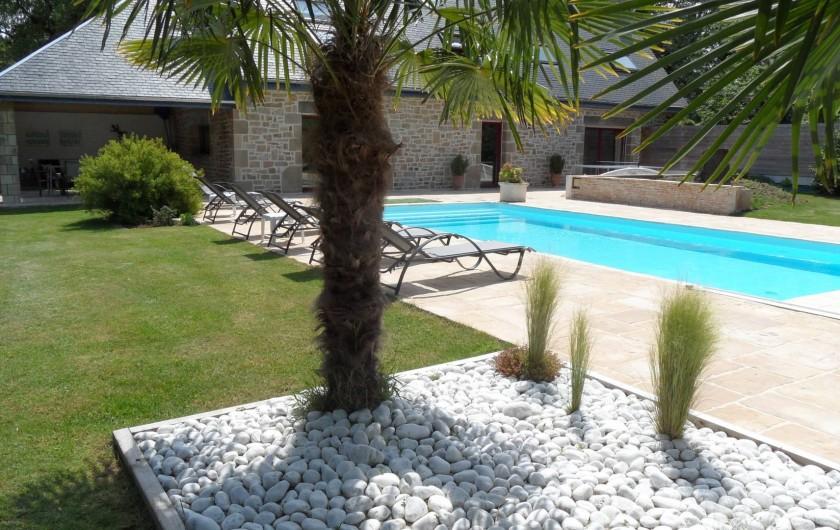 Location de vacances - Villa à Ploemel - vue  jardin