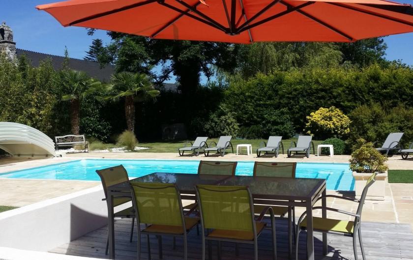 Location de vacances - Villa à Ploemel - espace repas