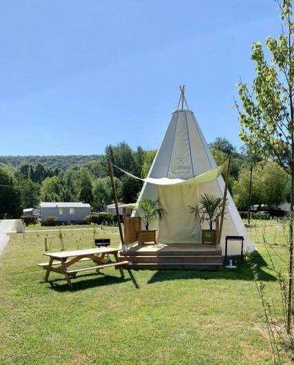 Location de vacances - Bungalow - Mobilhome à Les Andelys - Tipi