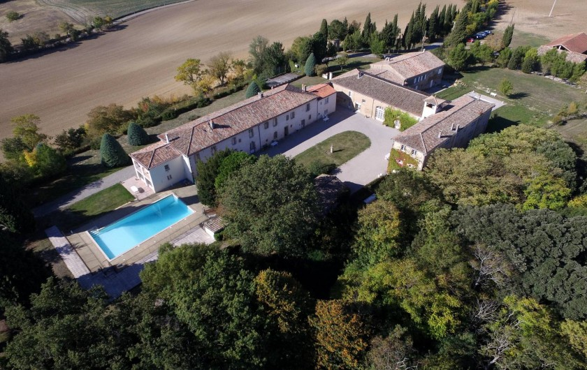 Location de vacances - Appartement à Airoux - la Ginelle vue depuis le nord-est