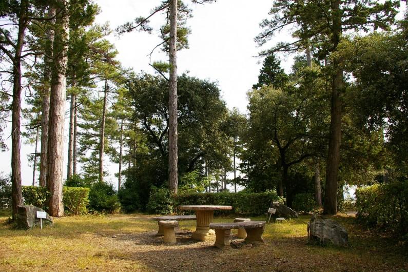 Location de vacances - Appartement à Airoux - dans le parc, le rond-point des Philosophes