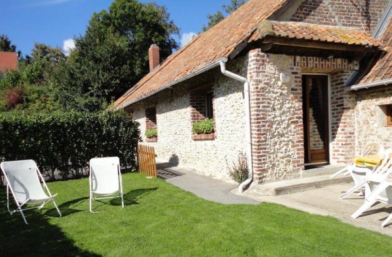 Location de vacances - Gîte à Frencq - Terrain  clos  privatif