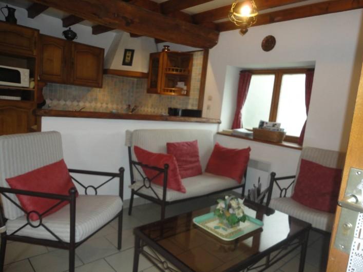Location de vacances - Gîte à Frencq - Salon