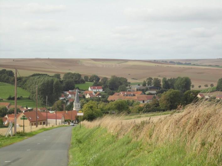 Location de vacances - Gîte à Frencq - Vue  du  Village  de  Frencq