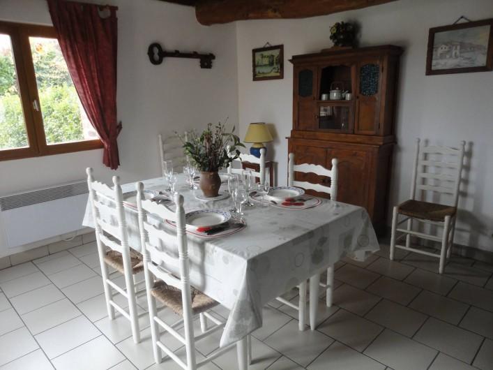 Location de vacances - Gîte à Frencq - Coin  repas