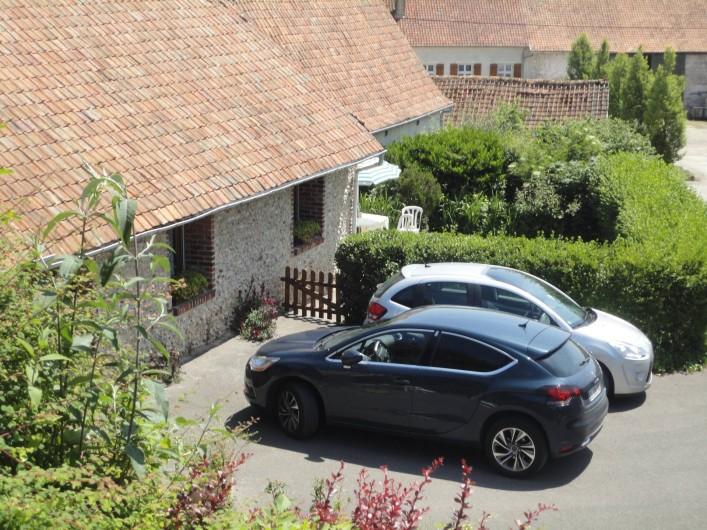 Location de vacances - Gîte à Frencq - Parking  privé  réservé  au  Gîte
