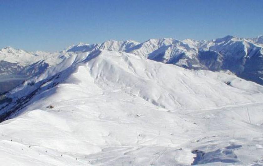 Location de vacances - Chalet à La Toussuire - 360 km de pistes....