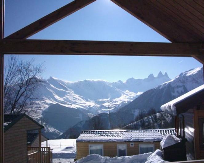 Location de vacances - Chalet à La Toussuire - Vue splendide sur les aiguilles d'Arves.