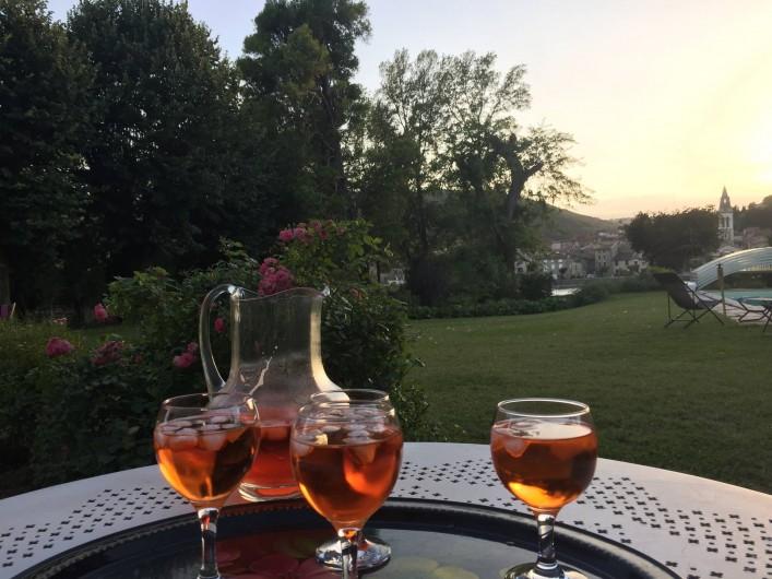 Location de vacances - Villa à Andancette - Le spritz du soir...