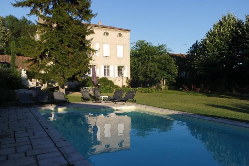 Location de vacances - Villa à Andancette - La piscine
