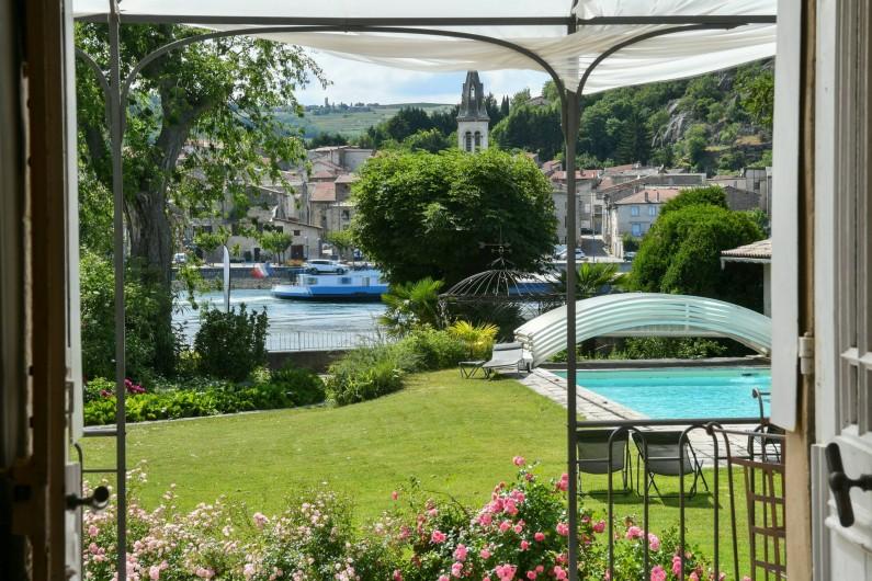 Location de vacances - Villa à Andancette