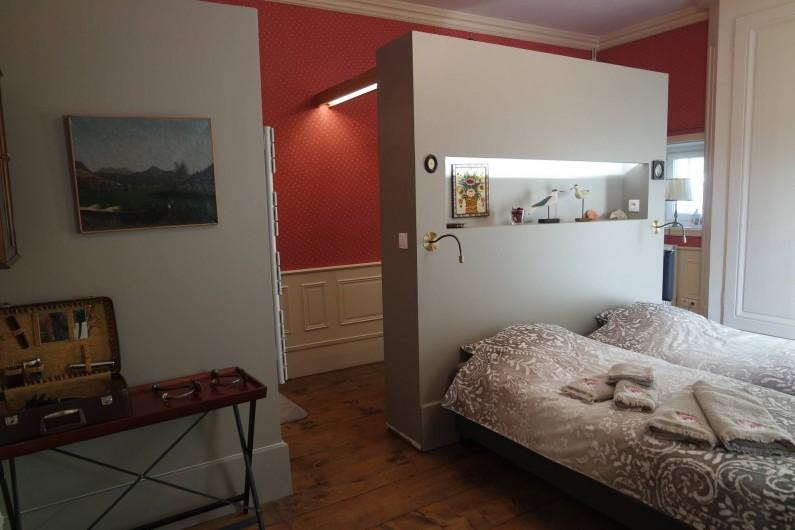"""Location de vacances - Villa à Andancette - Chambre d'hôte: """"Madame Bovary"""""""