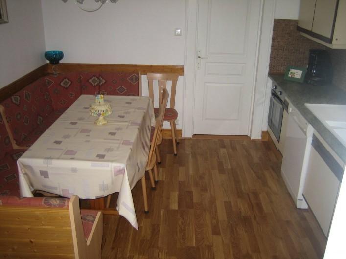 Location de vacances - Villa à Sondernach - coin repas 1er étage