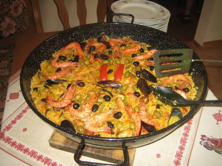 Location de vacances - Villa à Sondernach - où une paella  pour 25€ par personne