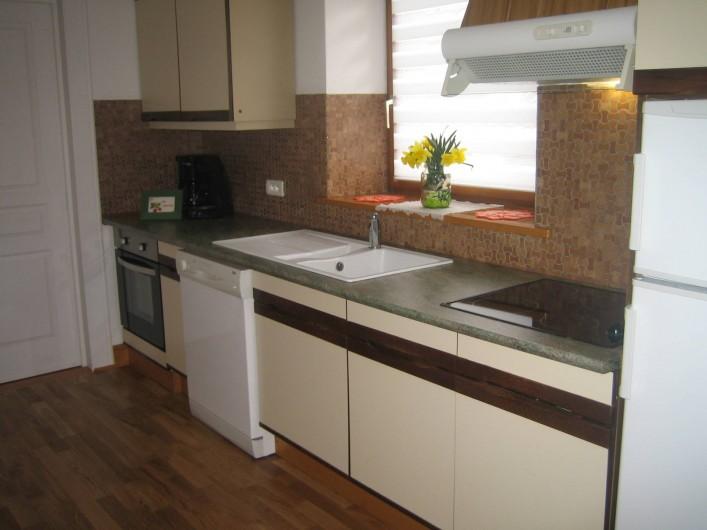 Location de vacances - Villa à Sondernach - cuisine du 1er étage
