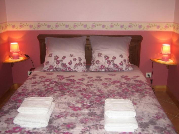 Location de vacances - Villa à Sondernach - chambre du rez de chaussée