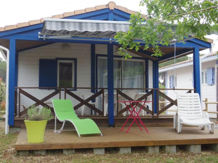 Location de vacances - Chalet à Mimizan