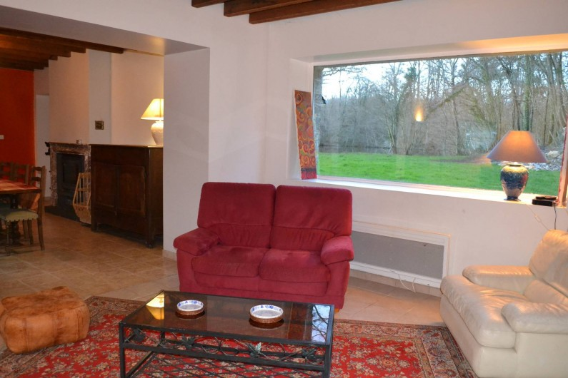 Location de vacances - Gîte à La Baconnière - Coin salon du séjour