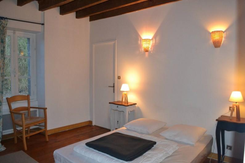 Location de vacances - Gîte à La Baconnière - Chambre 1er étage (lit 140x190 + lit appoint 90x190)