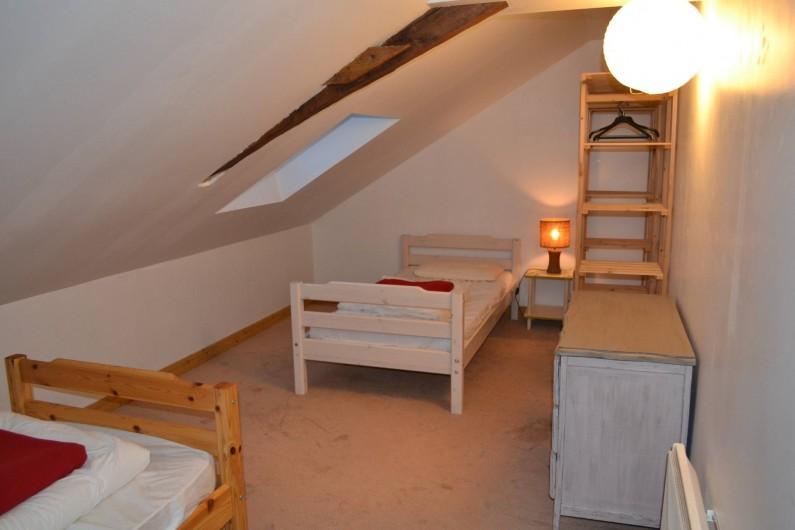 Location de vacances - Gîte à La Baconnière - Chambre 1er étage (2 lits 90x190)