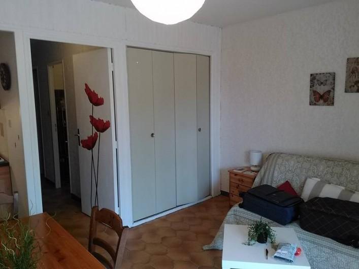 Location de vacances - Appartement à Saint-Mandrier-sur-Mer - coté convertible
