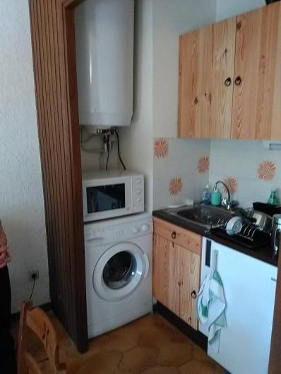 Location de vacances - Appartement à Saint-Mandrier-sur-Mer - coin cuisine