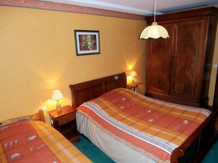 Location de vacances - Chambre d'hôtes à La Chapelle-prés-Sées - chambre cob normand