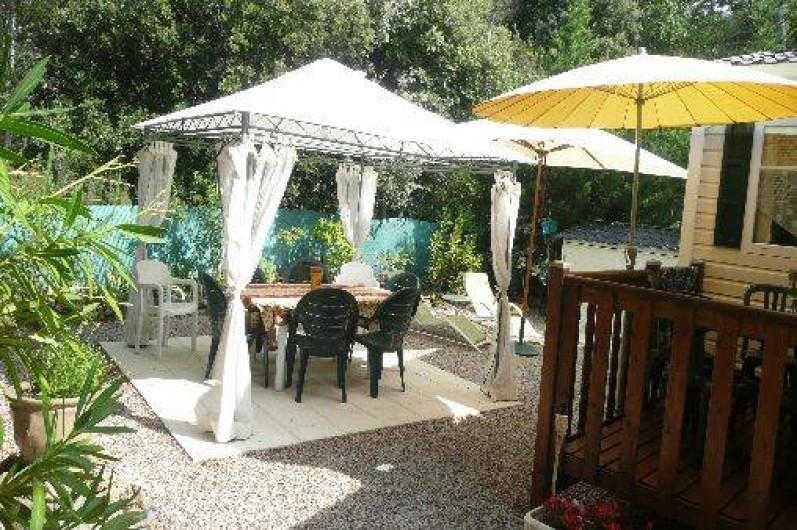 Location de vacances - Camping à Sillans-la-Cascade