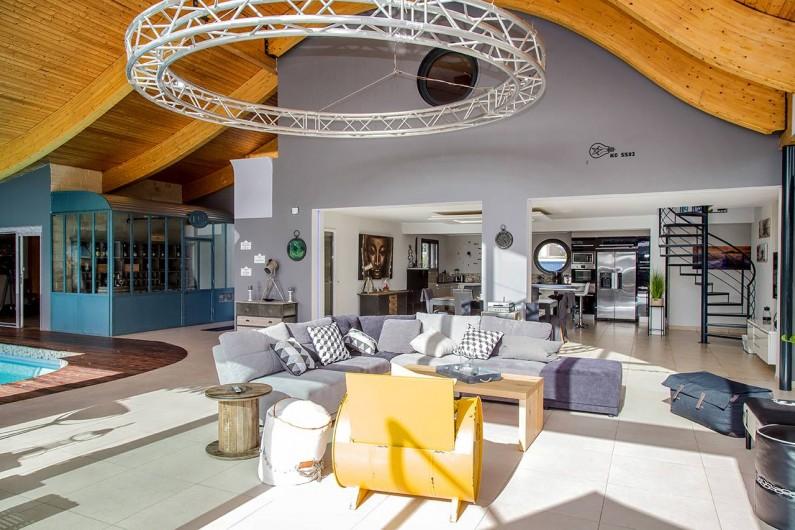 Location de vacances - Villa à Santec - salon