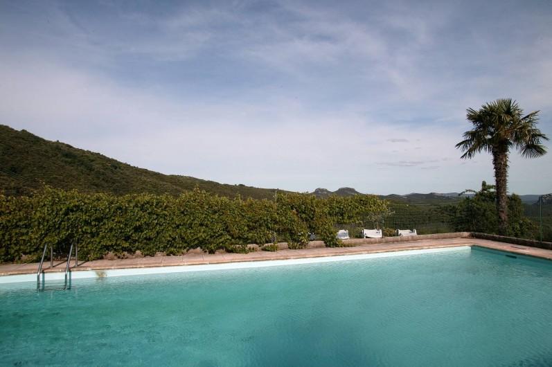 Location de vacances - Gîte à Cros - piscine
