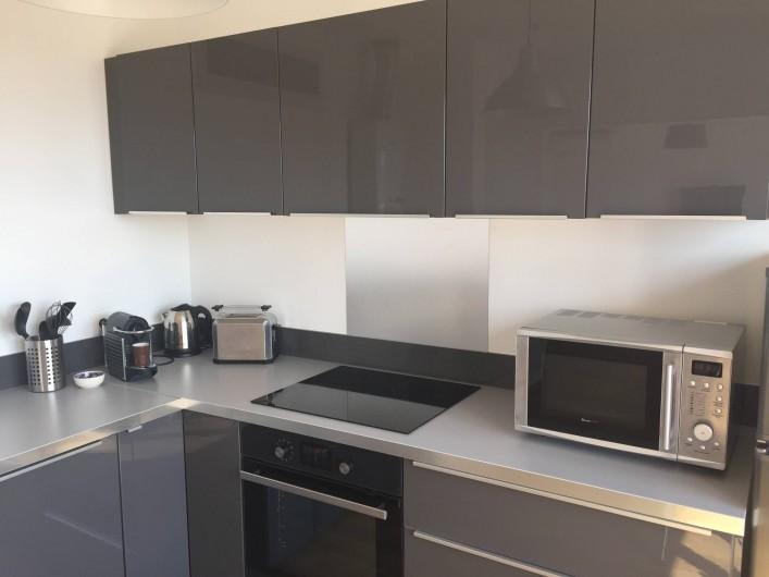 Location de vacances - Appartement à Aix-en-Provence - la cuisine équipée