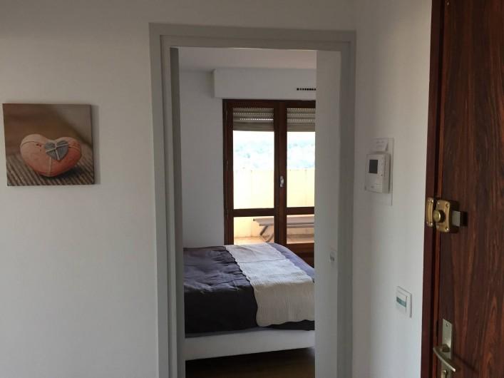 Location de vacances - Appartement à Aix-en-Provence - la chambre avec accès terrasse