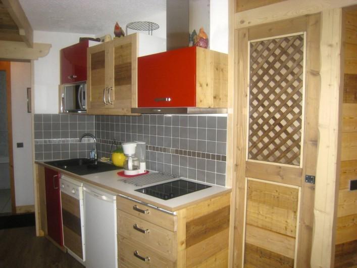 Location de vacances - Appartement à Valmorel - Cuisine