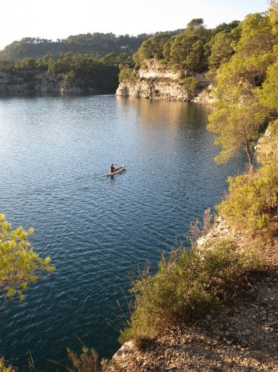 Location de vacances - Mas à Esparron-de-Verdon - Ballade en canoë en toute saison