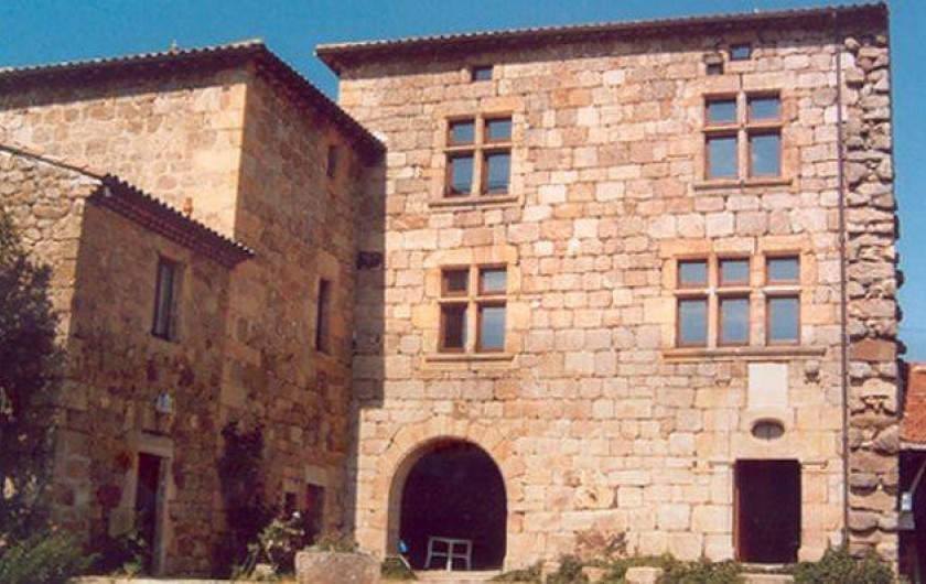 Location de vacances - Château - Manoir à Colombier-le-Vieux