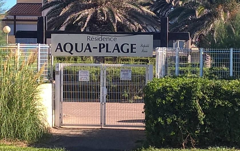 Location de vacances - Appartement à Le Cap d'Agde - ENTREE RESIDENCE COTE PLAGE RICHELIEU ACCES DIRECT PLAGE