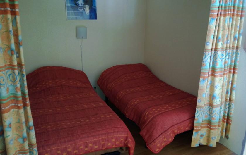 Location de vacances - Appartement à Le Cap d'Agde - 2 LITS DE 1 PLACE  SONT  A LA MEZZANINE