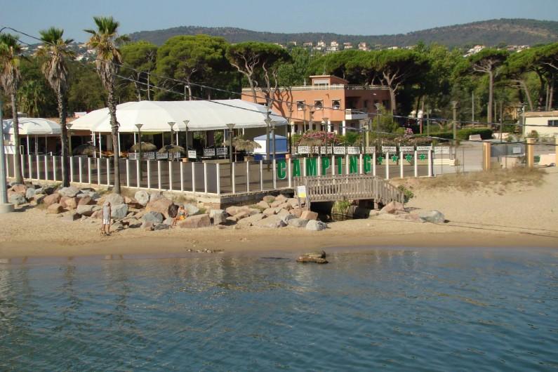 Location de vacances - Bungalow - Mobilhome à Saint-Aygulf - le camping (vue mer) accès plage sans utiliser voiture et payer horodateur