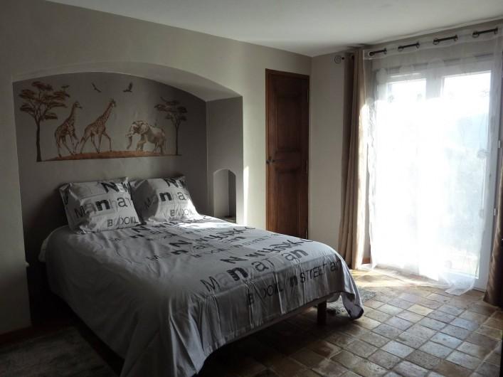 Location de vacances - Chambre d'hôtes à Bargemon - Chambre 2 en suite climatisée