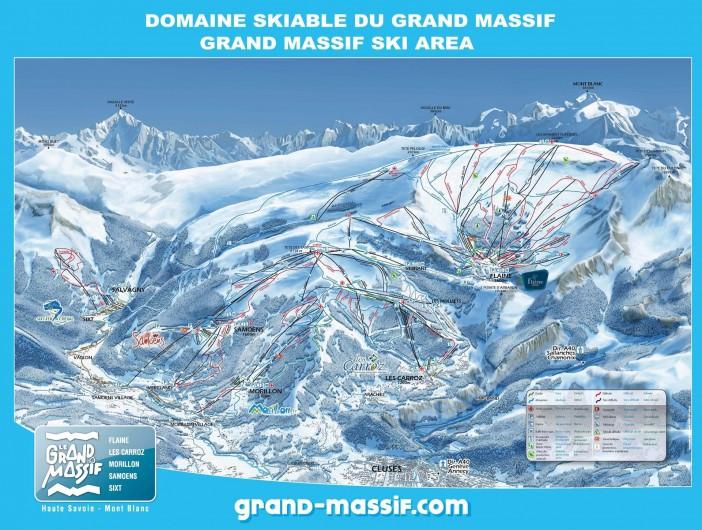 Location de vacances - Chalet à Samoëns - domaine skiable grand massif