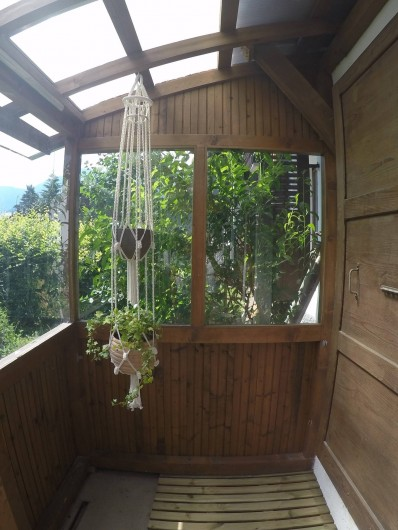 Location de vacances - Chalet à Samoëns - patio