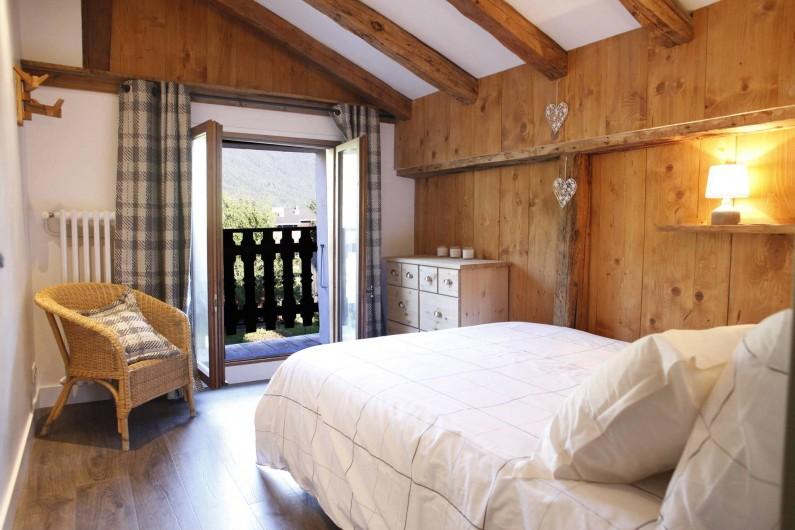 Location de vacances - Chalet à Samoëns - chambre 1 double