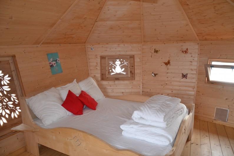 Location de vacances - Insolite à Pressac - La cabane Alizée