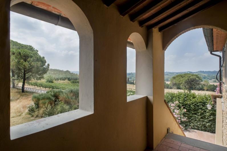 Location de vacances - Chalet à Terricciola - Le balcon