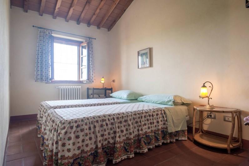 Location de vacances - Chalet à Terricciola - Chambre à deux lits