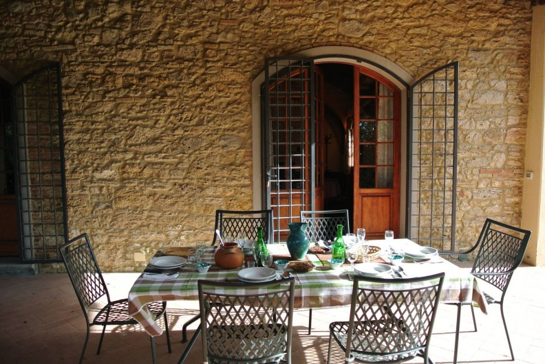 Location de vacances - Chalet à Terricciola - Le patio e la table