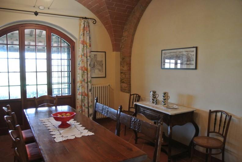 Location de vacances - Chalet à Terricciola - La salle à manger