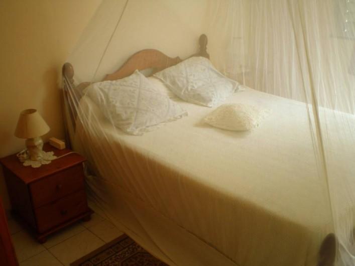 Location de vacances - Appartement à Les Anses-d'Arlet - Chambre climatisée  n° 1
