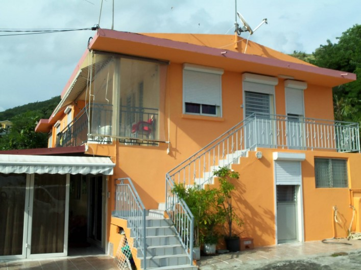 Location de vacances - Appartement à Les Anses-d'Arlet - Vue de la Maison